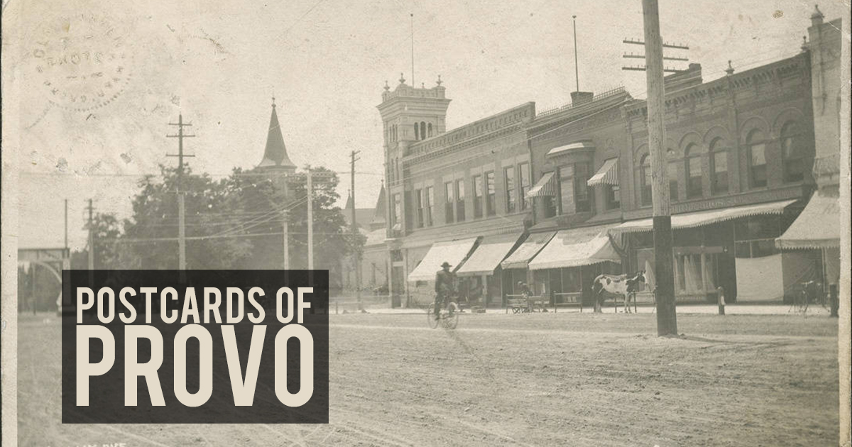 postcards of provo