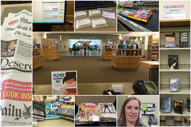 Day in the Life of a Librarian Collage1
