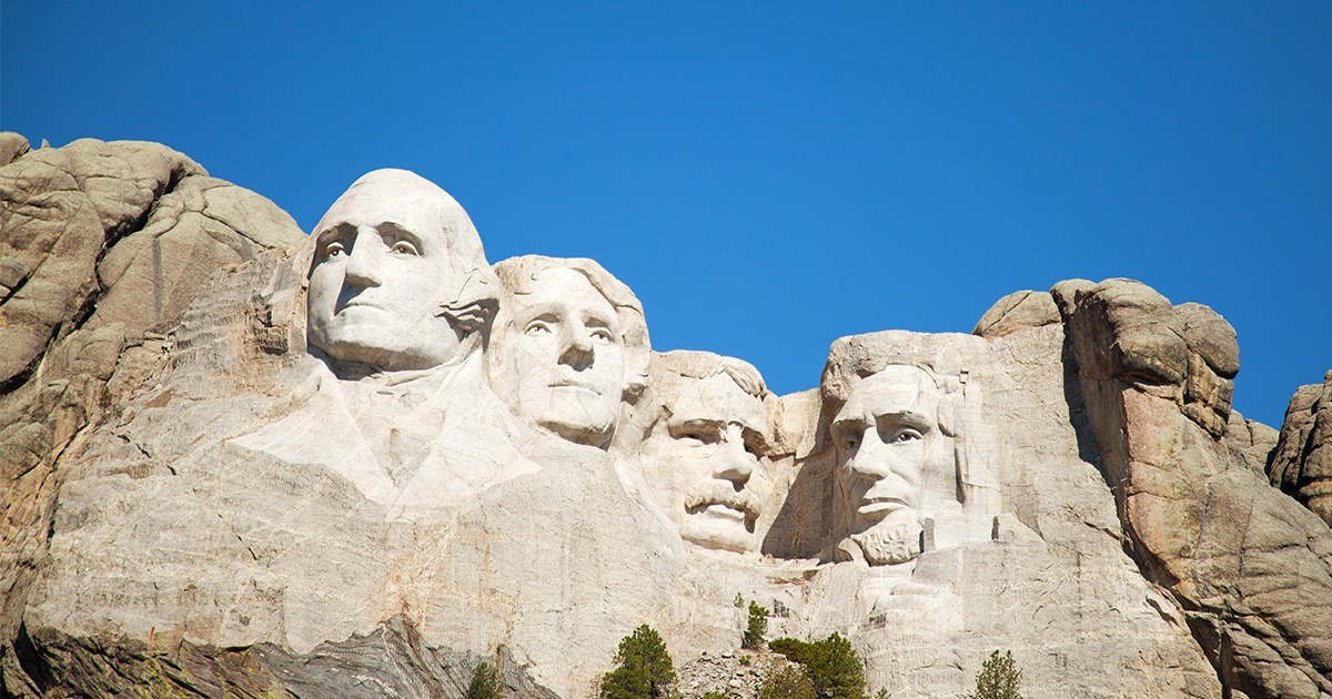 2.16 Presidents Day Mount Rushmore