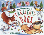 12 days christmas dogs