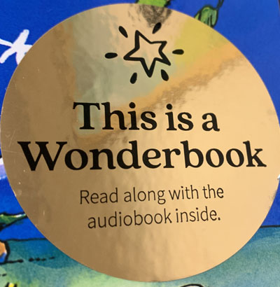Wonderbook Sticker