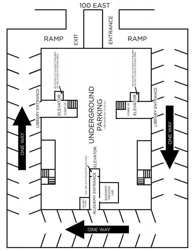 Parking Garage Layout