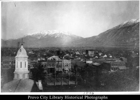 View of Provo from Tabernacle Tower