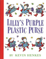 10.15 Lillys Purple Plastic Purse