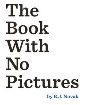 12.13 Book with no Pictures