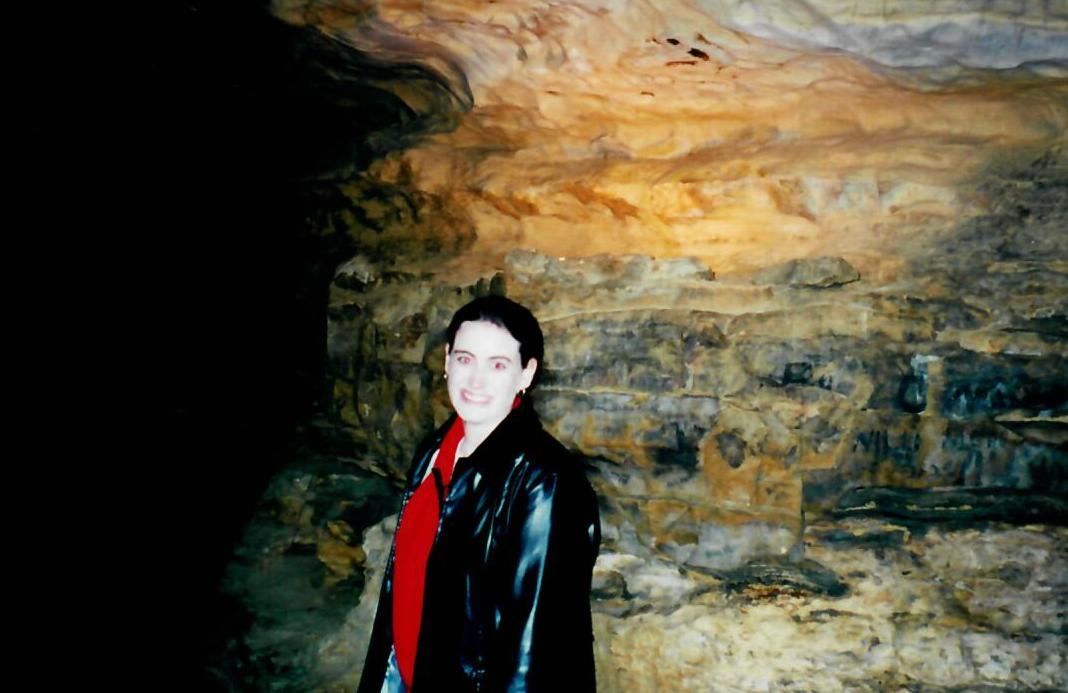 8.6 Mark Twain Cave with Joella