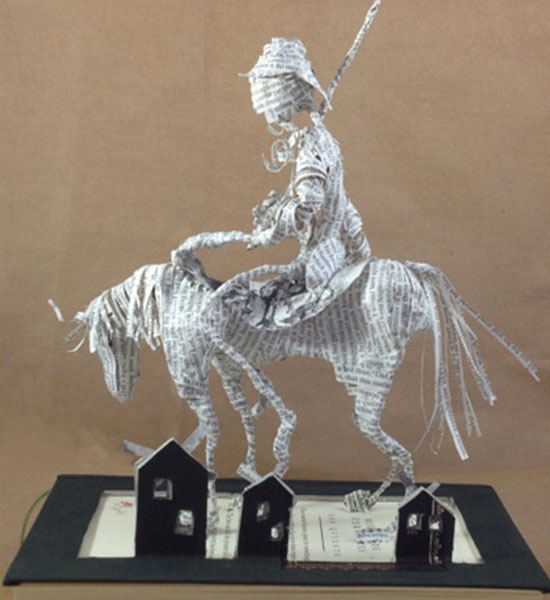 Sculpture Don Quixote