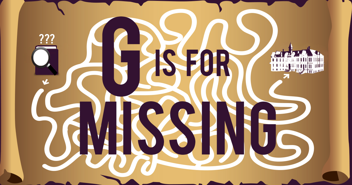 g is for missing