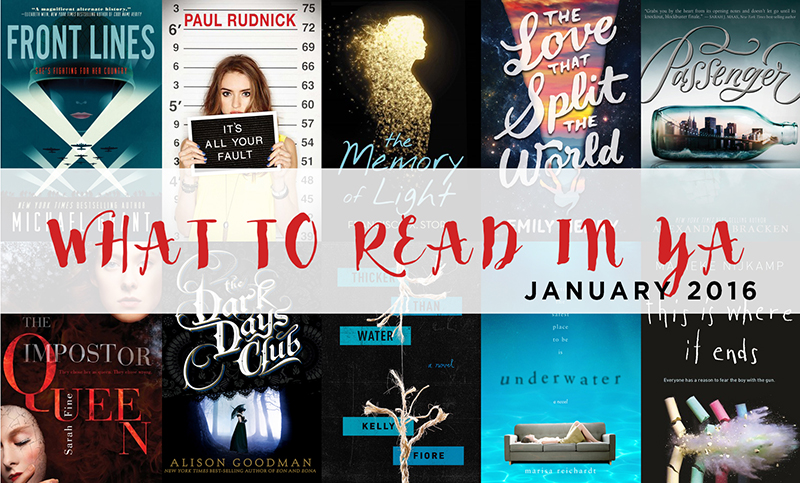 What to Read in YA Jan