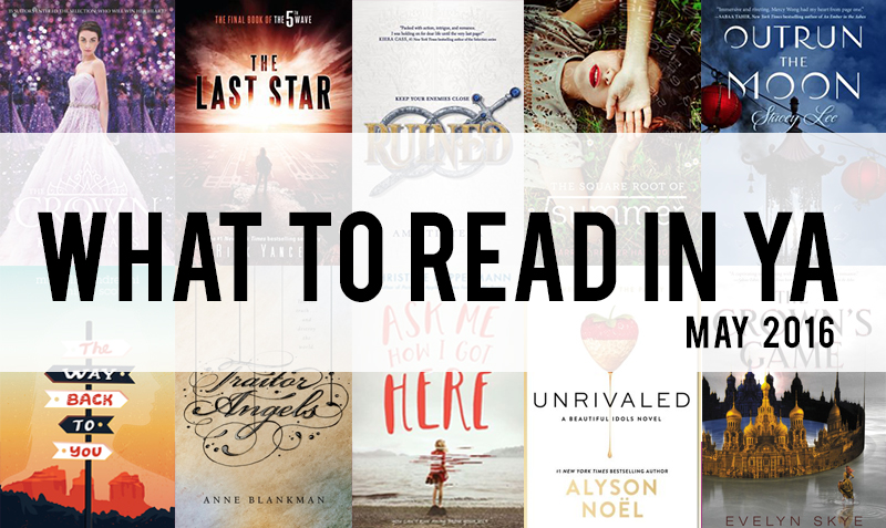 what to read in YA May 2016