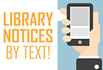 library text notices