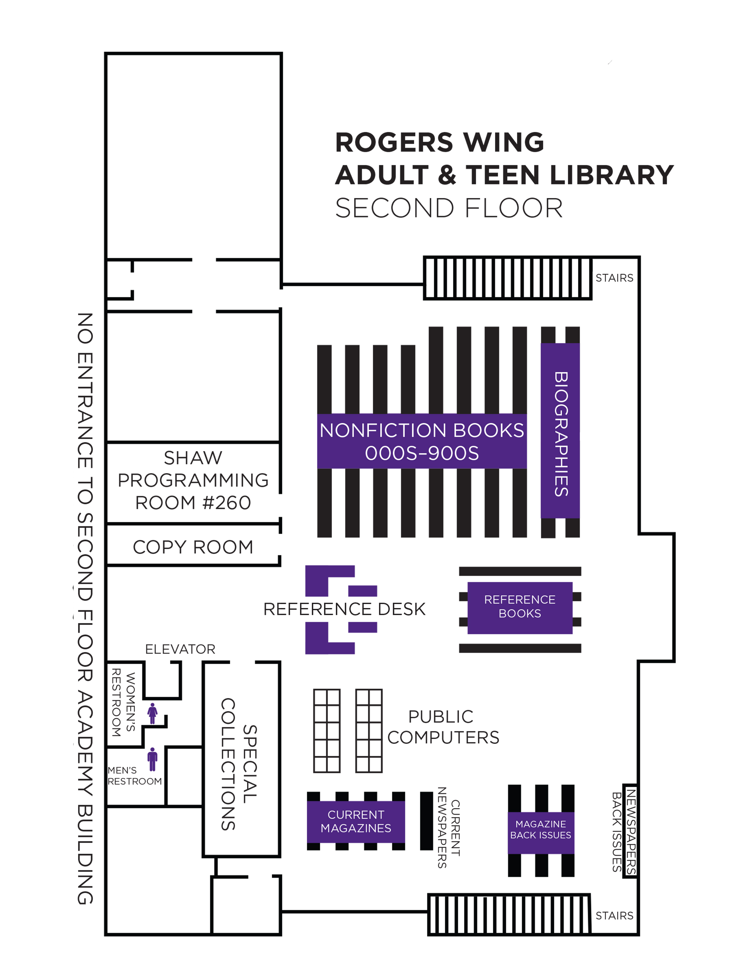 second floor rogers new wing